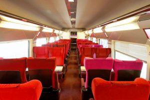 composite intérieur train