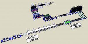 ligne fabrication panneaux polyuréthane DPS Composites
