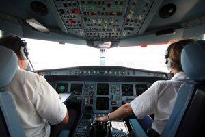cockpit d'avion manche poluyréthane DPS Composites