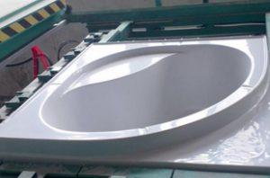 baignoire thermoplastiques techmill