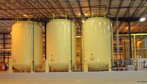 stockage matieres premières polyuréthane DPS Composites
